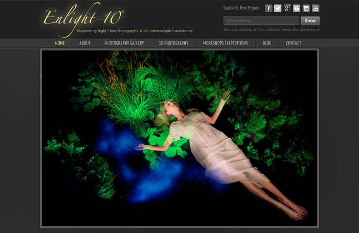Enlight 10 Website development With Wordress