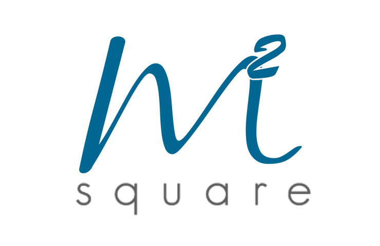 logo desing for m square by logo design company. Black Bedroom Furniture Sets. Home Design Ideas
