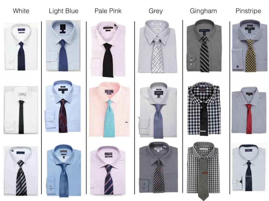 Importance of presentation context for ecommerce product for How to match shirt and tie