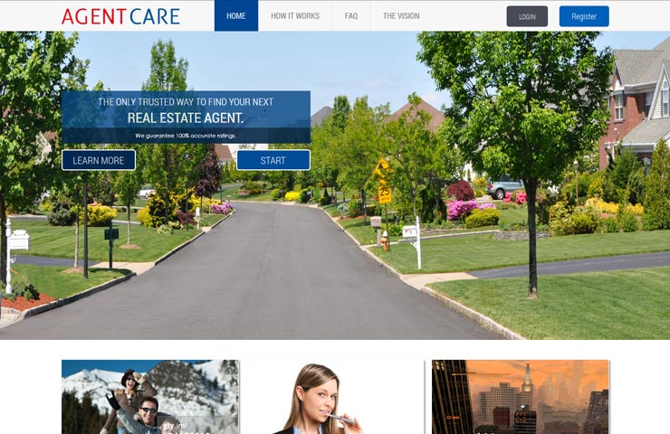 Agent Care Web For Real State