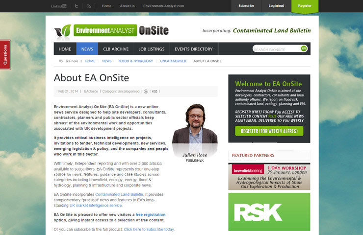 News Of Website Development With EA Onsite