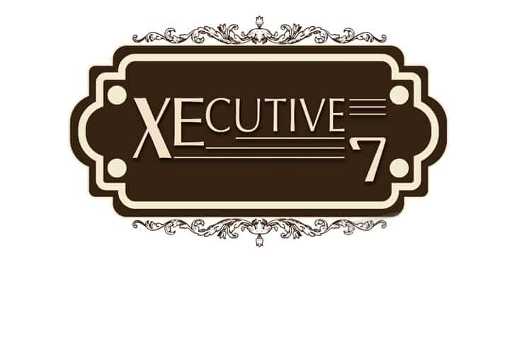 Logo Design for Executive7 a japan based traditional restaurant and night club. Our Team Making attractive & Creative logo for Restaurant