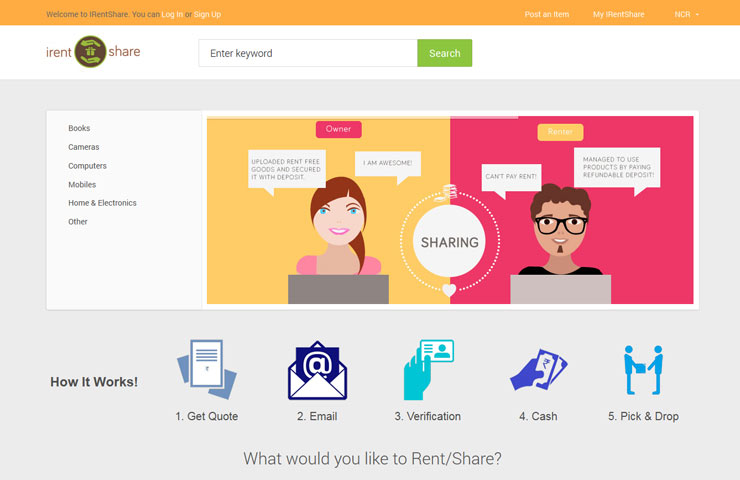 Irentshare Magento Development