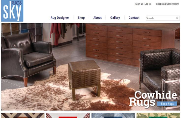 Skyrugs Magento Design Company