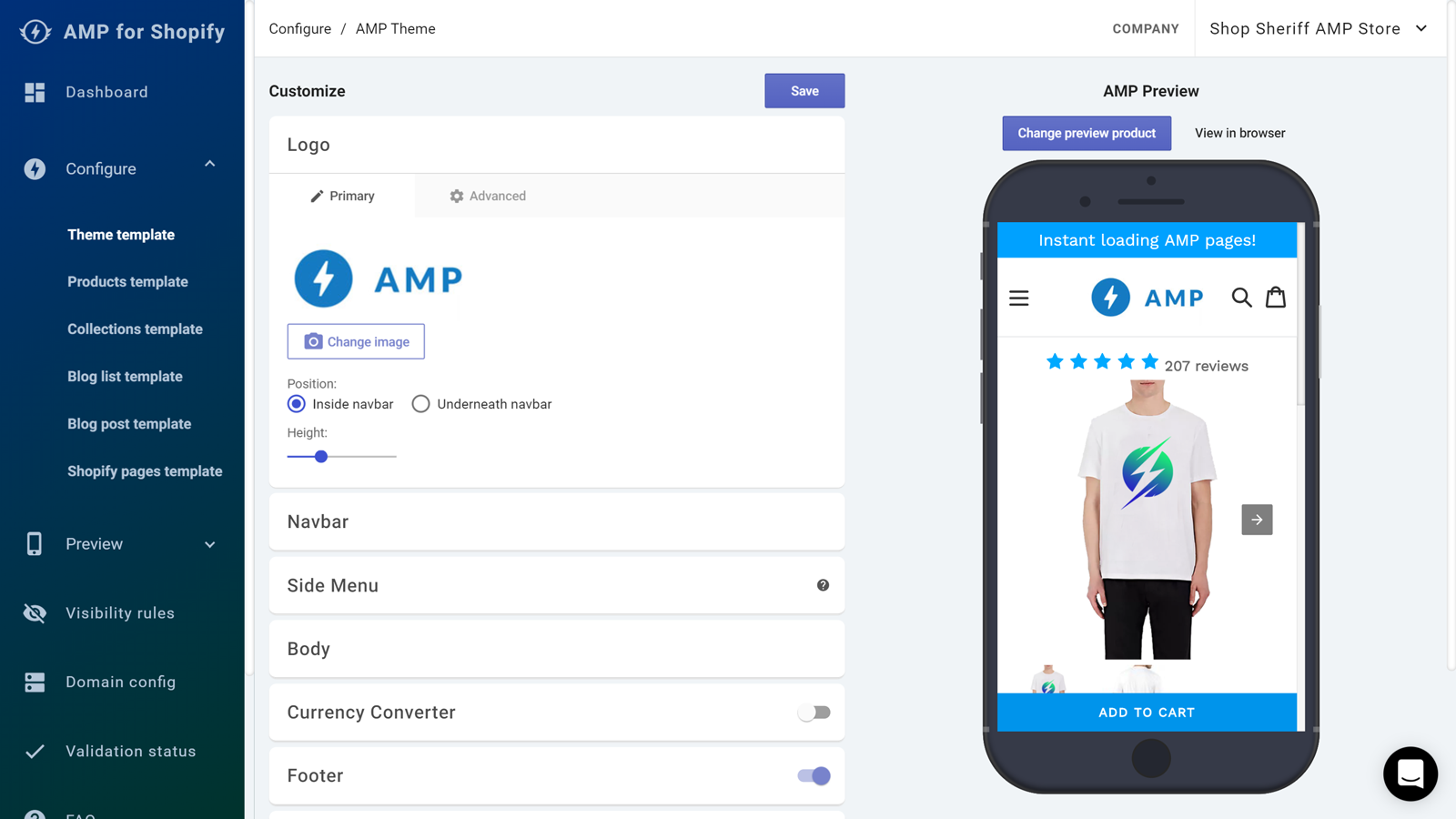Add AMP to Your Shopify Store