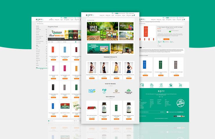 Bofy Online Marketplace Portal