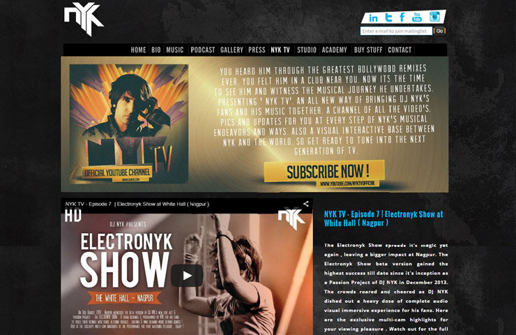 Joomla Web development Of DjnYk