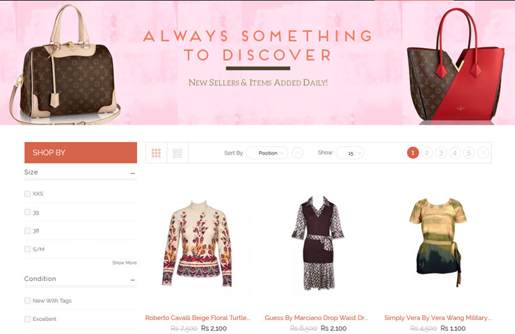 Sharewardrobe eCommerce Web Development By Axis Web Art