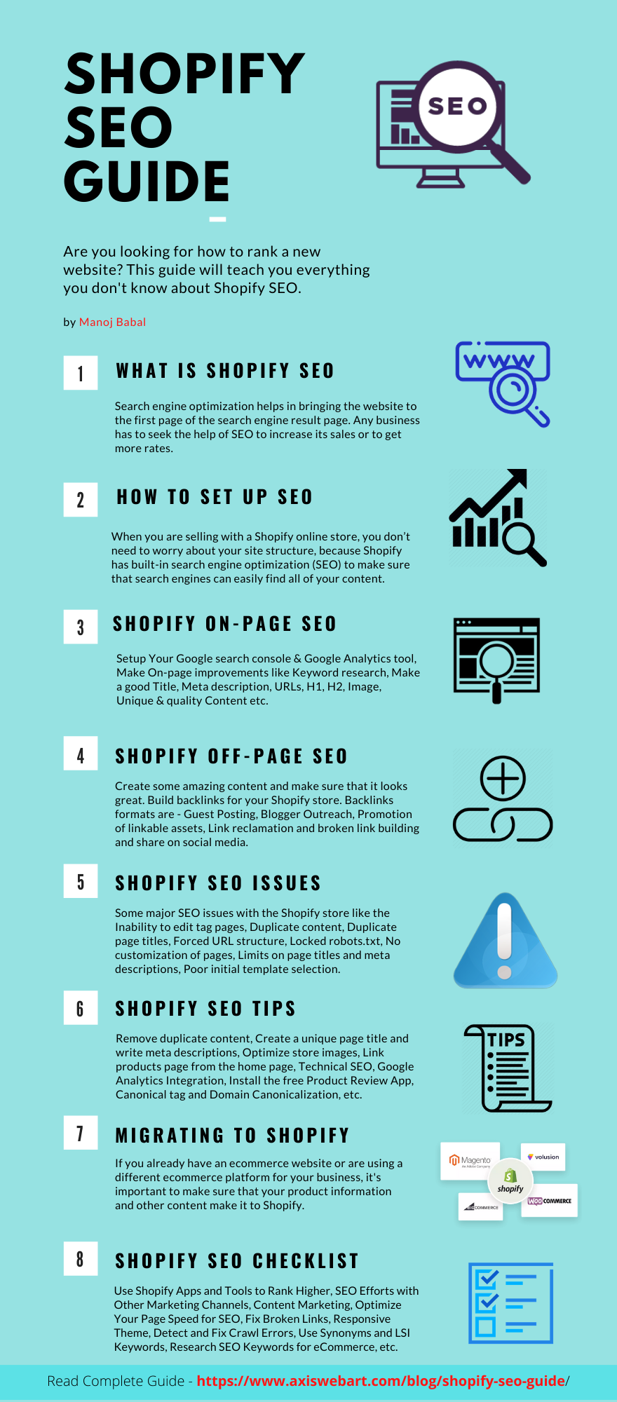 Shopify SEO Infographic