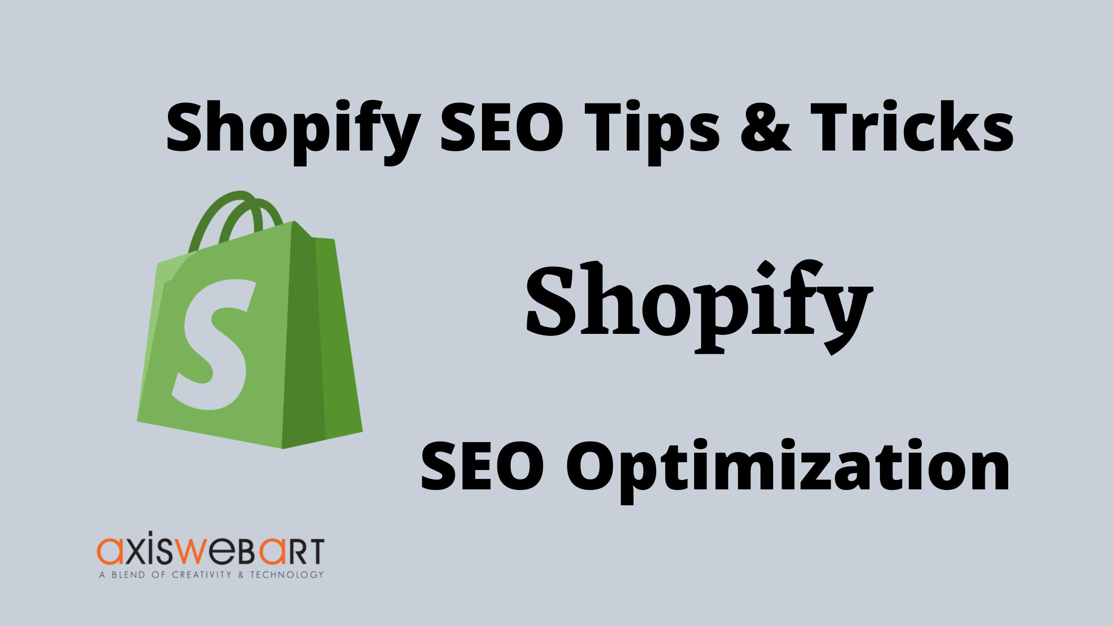 shopify seo tips & tricks