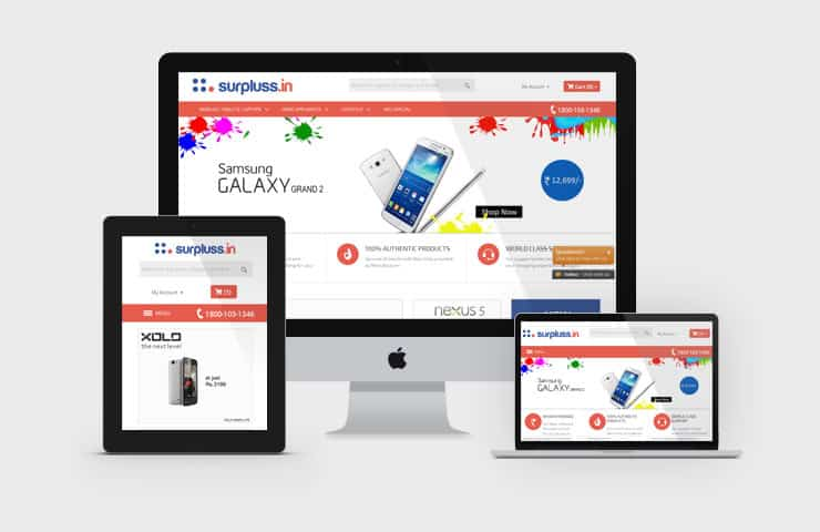 eCommerce Website Development For Reused Product
