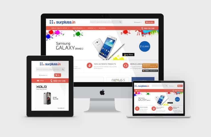 eCommerce Website Development For Reused Product