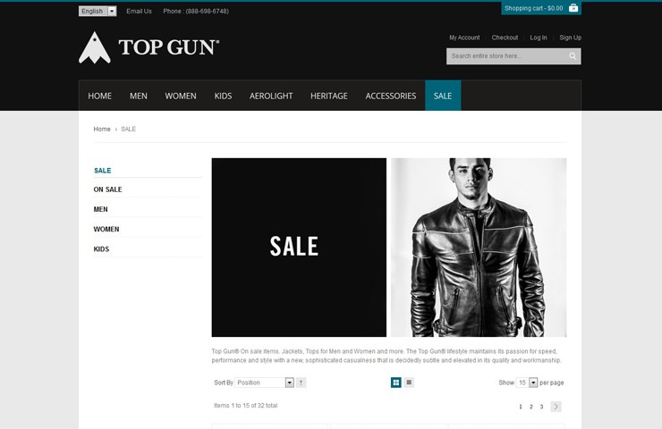 Top Gun with Magento Development